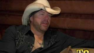 "Toby Keith ""I Will Never Smoke Weed With Willie Nelson Again"""
