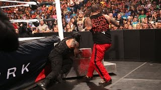 Bray Wyatt vs Roman Reigns  | BattleGround 2015 HighLights | HD