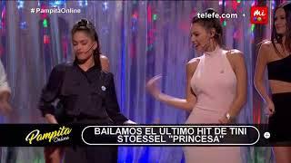 Tini Stoessel y Pampita a puro baile - Pampita Online