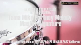 El Señor de los Platillos presenta: tambor TAMA Mike Portnoy