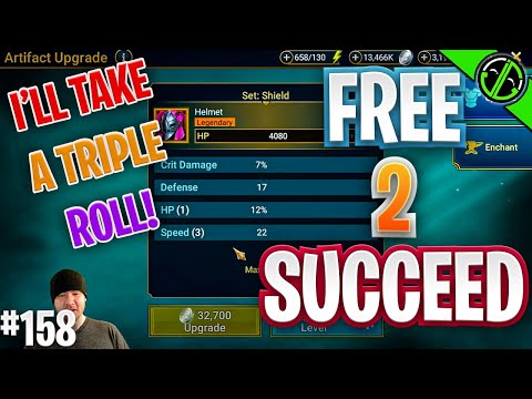 I Got 0 3v3 Rewards This Week, But At Least I Got A Triple Speed Roll | Free 2 Succeed - EPISODE 158