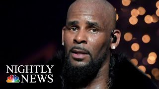 Police Conduct Welfare Check At R.Kelly's Home   NBC Nightly News