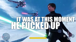 It Was At This Moment Luke Skywalker Knew... He Fucked Up.