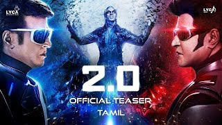 2.0 Official 3D Teaser Begins | Rajinikanth | Shankar | Akshay Kumar | Lyca Productions