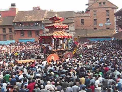 Nepal new year in Bhaktapur