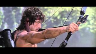 """Rambo, First Blood: Part II"" - The Explosive Arrow Scene"