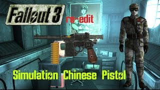 Lets Glitch: Fallout 3 | Simulation Chinese Pistol | (re-edit)