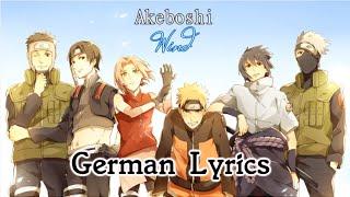 Akeboshi - Wind (German Lyrics)