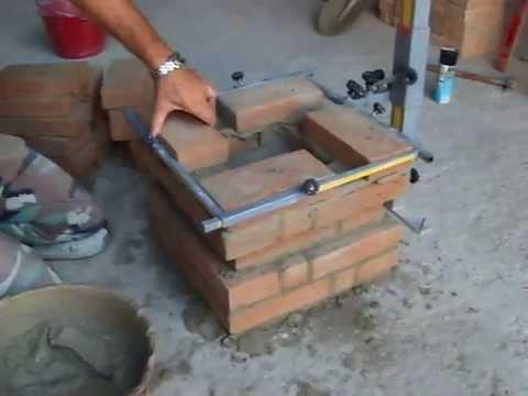 Come aggiungere pilastri alla costruzione in mattoni fai for Pilastri per una casa