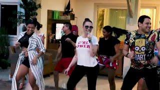 Solange Almeida - Coreografia/ Tá Pronta Pra Rebolar 2018 Música Nova