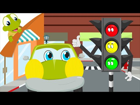 Traffic Lights Song   Vehicles Song   Red Light what do you say - YouTube