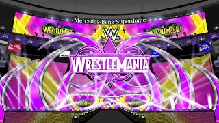 WWE WrestleMania 34 Opening Pyro Animation