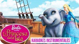 Siempre Más | Karaoke Instrumental | Barbie™ como La Princesa de la Isla