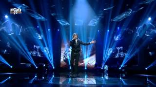 Tiberiu Albu - Dream on (Aerosmith) - Vocea Romaniei 2014 - Sezonu 4 - LIVE 3 - Editia 13