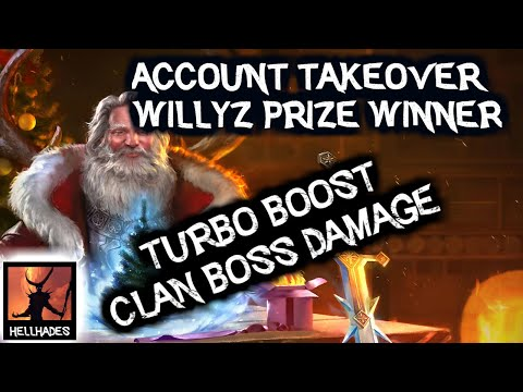 RAID: Shadow Legends | WillyZ Account Takeover, How to increase your Clan Boss damage. 5 easy steps!