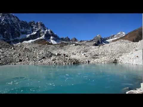 Weird sound, Ngozumpa Glacier, Nepal.
