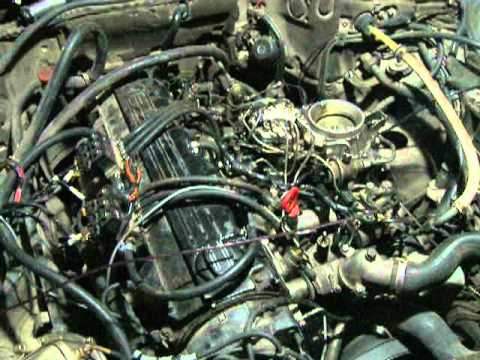 mercedes w126 m103 motor sıralı sistem lpg çalışma-2