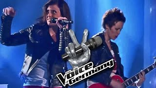 Are You Gonna Be My Girl – Sharron Levy vs. Katja Georgas-Spanos   The Voice   The Battles Cover