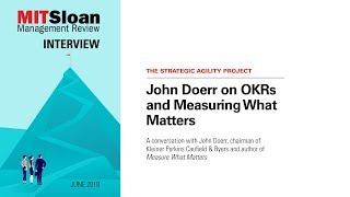 John Doerr on OKRs