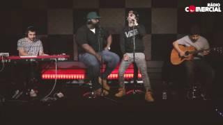 Rádio Comercial | Dengaz  - 'Tudo Muda' ao vivo no auditório da Comercial