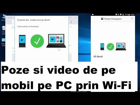 Copiere rapidă poze Mobil-PC prin WI-FI cu Photo Companion