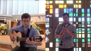 Holy, Holy, Holy (Guitar & Clarinet Cover) || Vince Carrola