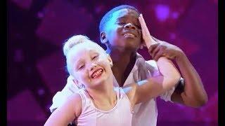 America's Got Talent | Artyon & Paige (Artyon Celestine & Paige Glenn) - Time of My Life | AGT 2017