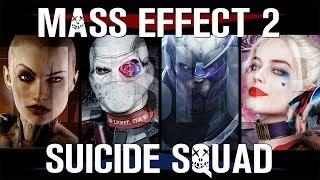TRAILER MASH-UP: Mass Effect 2 & Suicide Squad