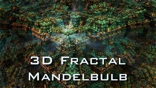 Gaudium Inside the Box - Mandelbulb 3D fractal HD - Psychedelic Trance