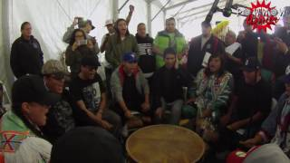 Blackstone Singers Wicked Side Step Song @ Thief River Powwow 2016
