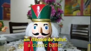 Boneco Quebra-Nozes #Nutcracker