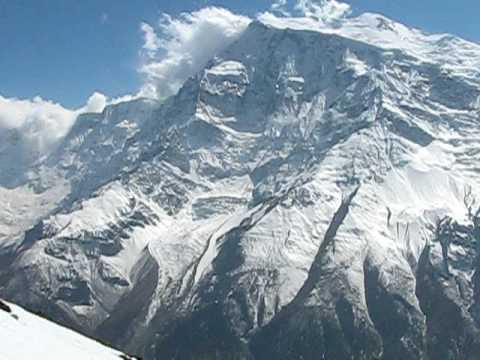 Annapurna Himalaya- At the Ice Lake above Manang/Bragat