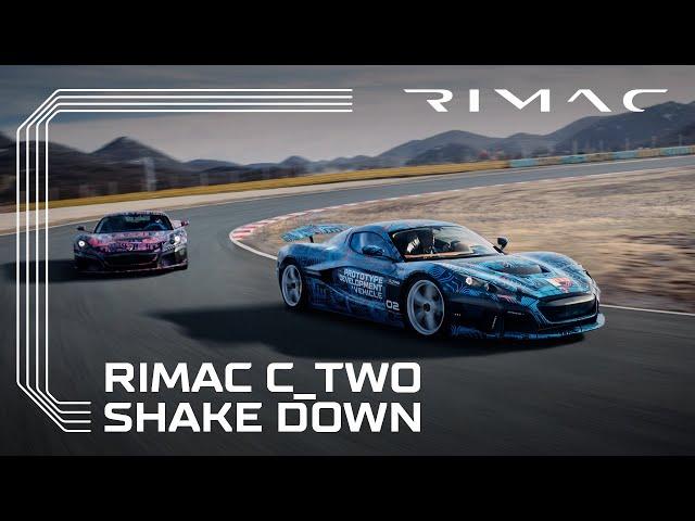 Rimac C_Two | Race Track Shakedown