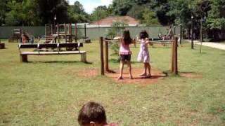 Nicolas, Annie e Júlia - Parque da Juventudes