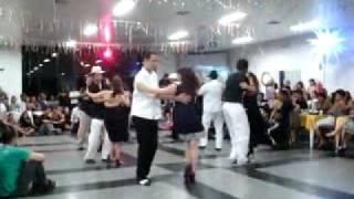 Cochichando no Grito de Carnaval com Dança de Salão na ACM Osasco em 06/02/2010