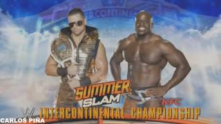 WWE SummerSlam 2016 Match Card Full