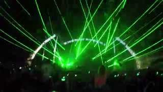 Eric Prydz - Ultra Music Festival Miami 2015 FIRST LASERS OMFG