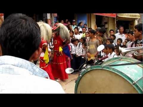 Street Performance at Boudhanath,Kathmandu,Nepal