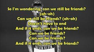 Justin Bieber - Friends [ LYRICS / LETRA ] ft. Bloodpop