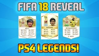 FIFA 18 REVEAL TRAILER! - LEGENDS ON PS4! - SONY BUY RIGHTS TO FIFA 18 by EA SPORTS FIFA