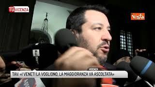 TG VICENZA (22/02/2019) - TAV: «I VENETI LA VOGLIONO, LA MAGGIORANZA VA ASCOLTATA»