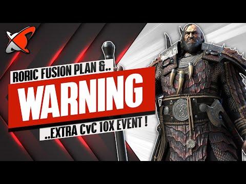 *WARNING* Roric Wyrmbane Fusion Plan | + Extra CvC 10X Event | RAID: Shadow Legends