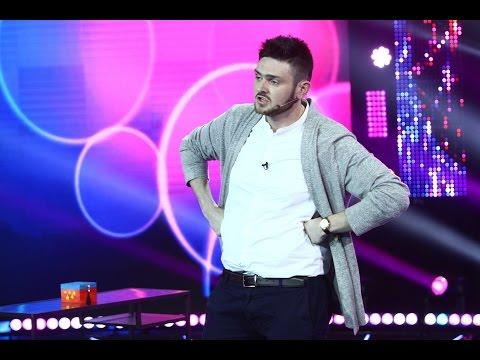 Mircea Serediuc, număr de stand up comedy pe scena iUmor