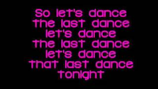 Ariana Grande - Last Dance With Lyrics