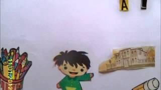 """""""Derechos del niño"""" (Stop Motion)"""