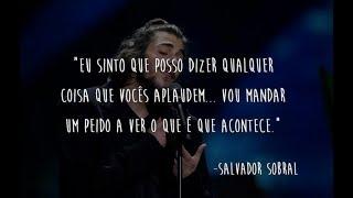 Salvador Sobral - PEIDAR pelos Dois (Ao vivo)