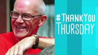 Organ Donation Volunteer Paul Dixon - #ThankYouThursday