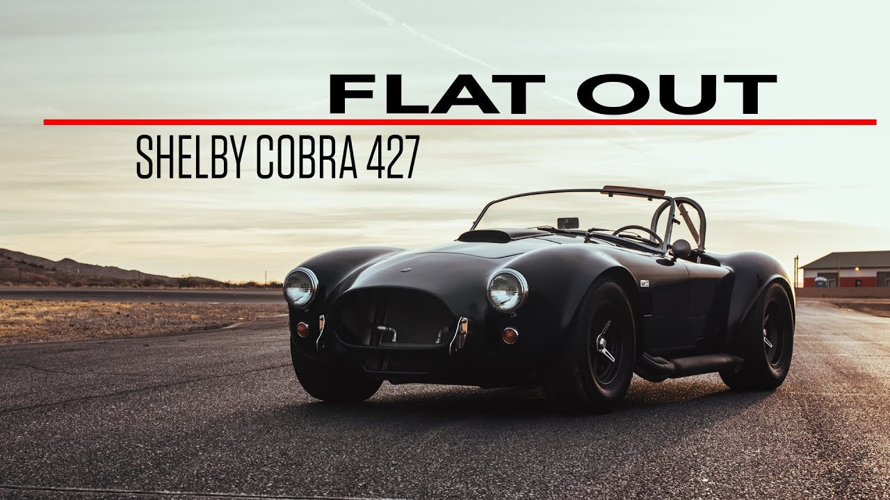 Flat Out in a 2008 Shelby Cobra 427 continuation car thumbnail