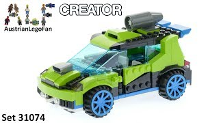 Lego Creator 31074 Rocket Rally Car - Lego Speed Build Review