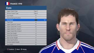 Laurent Blanc face PES 2017